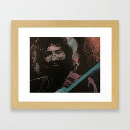 He's Gone Framed Art Print