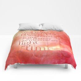 light & time Comforters