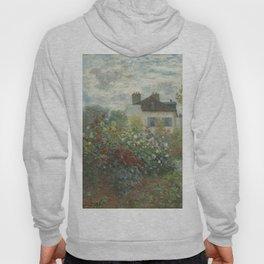 Claude Monet The Artist's Garden in Argenteuil (A Corner of the Garden with Dahlias), 1873 Hoody