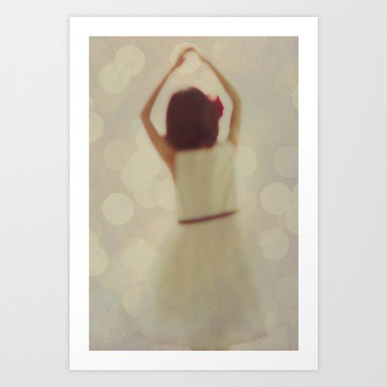 Dreaming of Dancing Art Print