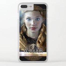 Young Warrior - David Munoz Clear iPhone Case