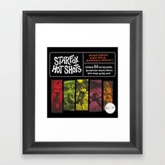 Stop, Drop And Do A Barrell Roll!!! Framed Art Print