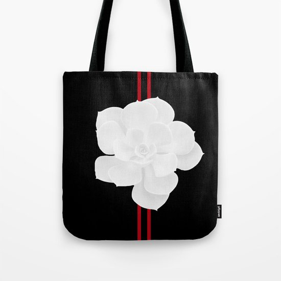 White Succulent On Black #decor #society6 #buyart by pivivikstrm