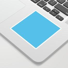 SOLID NEON BLUE Sticker