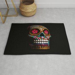 Mexico City Skull Rug