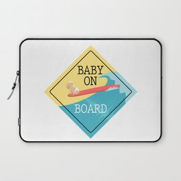 Baby On Board Laptop Sleeve