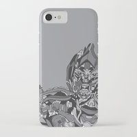 transformers iPhone & iPod Cases featuring Transformers: Megatron by Skullmuffins