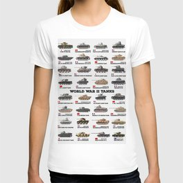 World War II Tanks T-shirt
