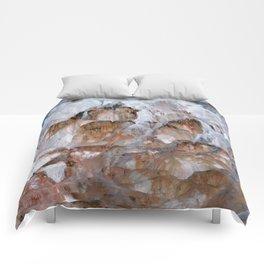 Mammoth Hot Springs Yellowstone Comforters
