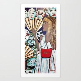 Melpomene Art Print