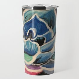 Dynamic Flower Travel Mug