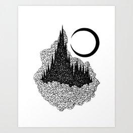 Star Towers Art Print