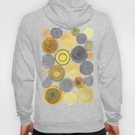 Abstract Doodle Circles Hoody