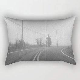 The Long Journey Rectangular Pillow