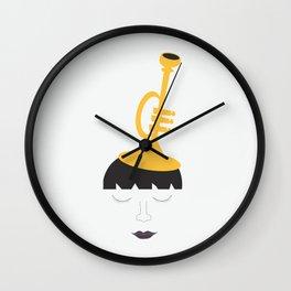 Trumpet Fashion Statement Wall Clock