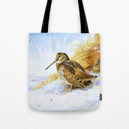 Winter Woodcock - Digital Remastered Edition Tote Bag