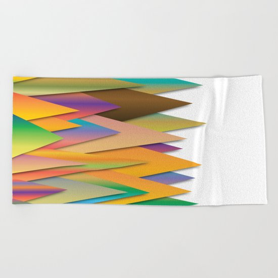 Mountains of Colorcombinations Beach Towel