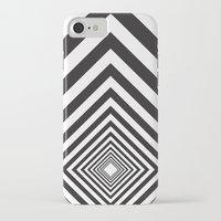 square iPhone & iPod Cases featuring Square by Vadeco