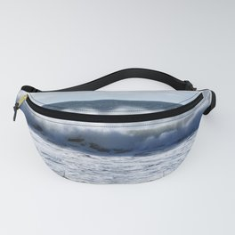 Lawrenctown Beach Wave Spray1 Fanny Pack