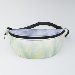 Hill Country Texas Bluebonnet Abstract Fanny Pack