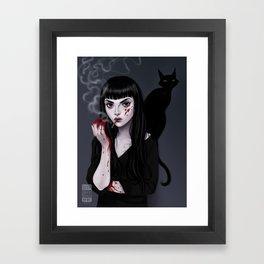 Mia Corvere Framed Art Print