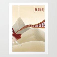 Journey Art Print