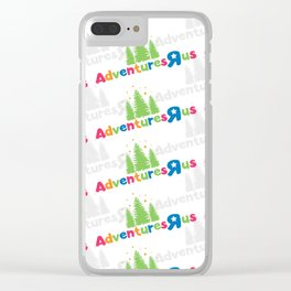 Adventures R Us Clear iPhone Case