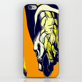 Hand that Takes iPhone Skin