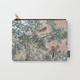 Winter Pair (Northern Cardinals) Carry-All Pouch