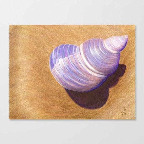 Seashell - Painting Canvas Print