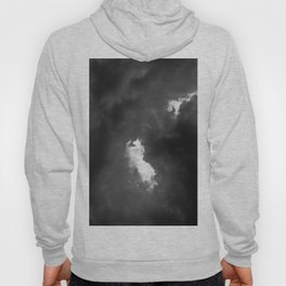 Clouds its all Black and white Hoody