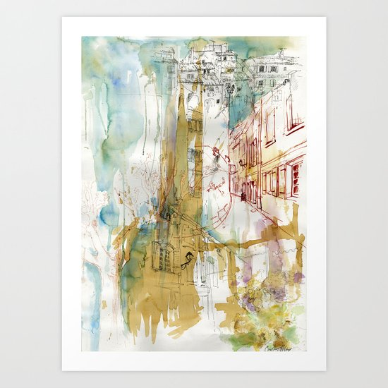 A French Experience Art Print