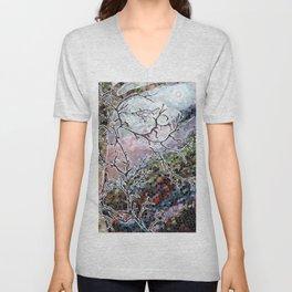 Wolf Tree Unisex V-Neck
