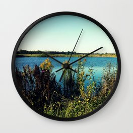 Morning Pond Wall Clock