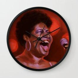 Aretha Franklin Wall Clock
