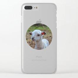 baa-lamb Clear iPhone Case