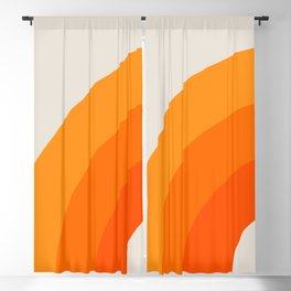 Creamsicle Bow Blackout Curtain