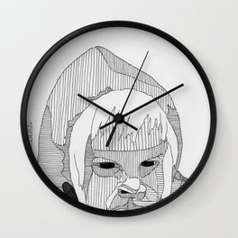 Creature of the Brood. Wall Clock