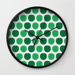 Dotty Durians - Singapore Tropical Fruits Series Wall Clock
