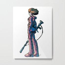 Nausicaa's Stare Metal Print