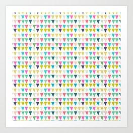 geometrics colors Art Print