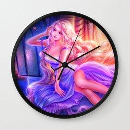 Sleepless Nights-Rapunzel Wall Clock