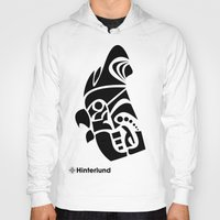 rooster Hoodies featuring Rooster by Hinterlund