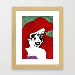 I'm not a child anymore... Framed Art Print