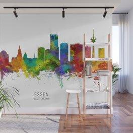 Essen Germany Skyline Wall Mural
