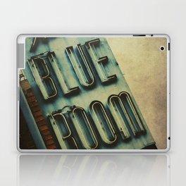 Blue Room Neon Sign Laptop & iPad Skin