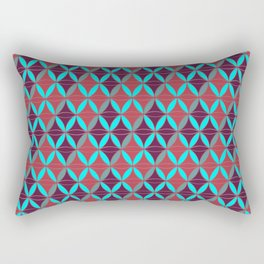 Rhomboids Pattern 2 Rectangular Pillow