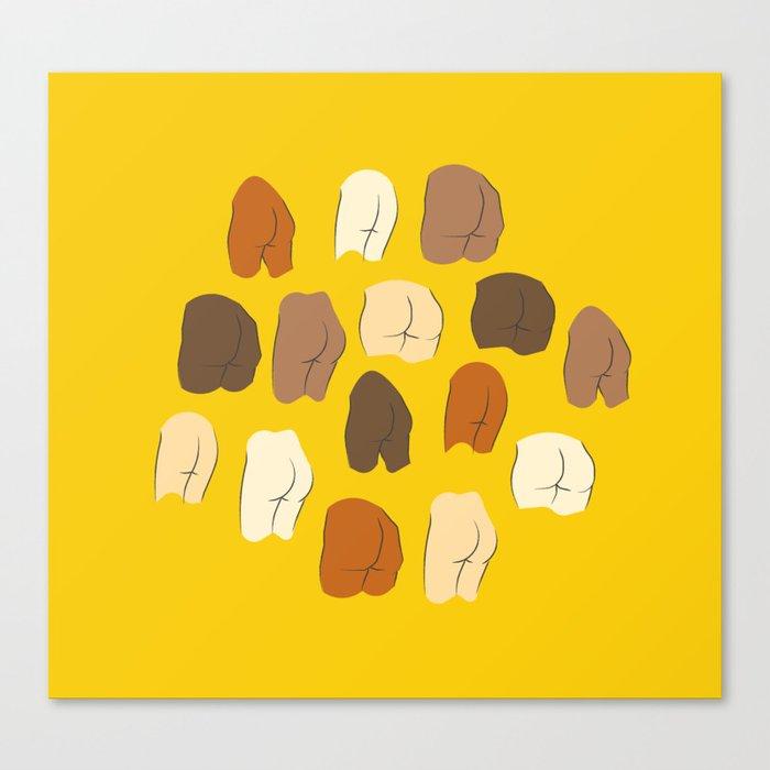 Beautiful Butts Canvas Print