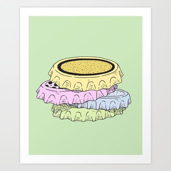 crown cap Art Print