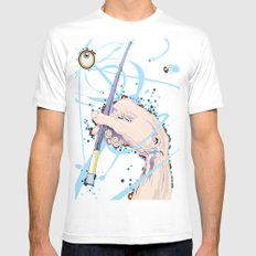 Inspiration MEDIUM White Mens Fitted Tee